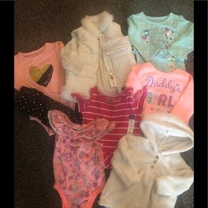 Bundle of 18mth various clothes